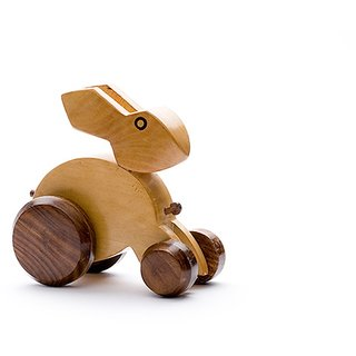 Desi Karigar Wooden rabbit toy