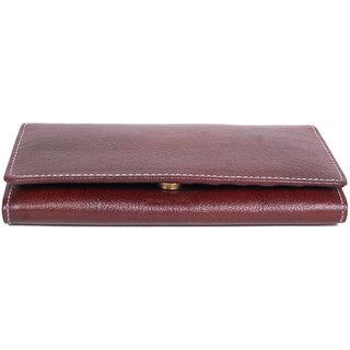POOJA Original GENUINE Leather Ladies Wallet Ladies Purse Ladies money purse LW102BR