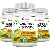 St.Botanica Garcinia Cambogia - 60 Hca 800Mg Tablets - 90N - Pack Of 3