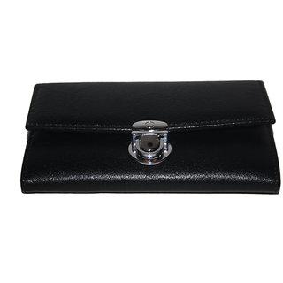 POOJA Original GENUINE Leather Ladies Wallet Ladies Purse Ladies money purse LW512BL