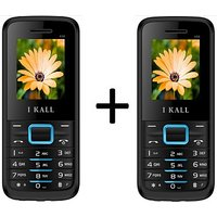 I KALL 1.8 INCH DUAL SIM MULTIMEDIA MOBILE COMBO OF TWO(K88BLUE+K88BLUE) WITH FM  BLUETOOTH (Blue)