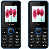 IKall  1.8 Inch Dual Sim Multimedia Set Of Two MobileK6