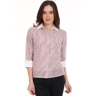 Mustard Brown Cotton  Casual Shirt (A401P-BRS)