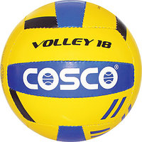 Branded Genuine COSCO VOLLEY-18 Ball Size-4 (Synthetic Hand SEWN Volleyball)