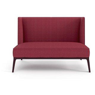 Tezerac -Raton Two Seater Sofa - Red