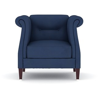 Tezerac -Panama Single Seater Sofa Chair - Blue