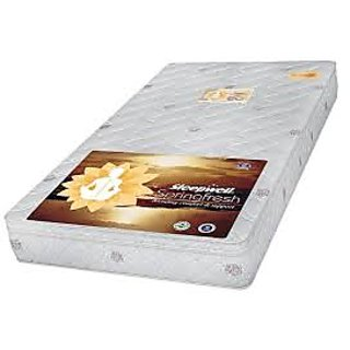 Sleepwell 8 Inch Thick Mattress White