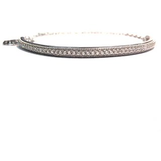 Puran 925 Sterling Silver Bracelet for Girls (Adjustable)