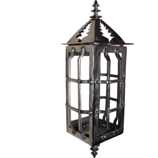 AnasaDecor Exclusive hammered cast metal wall Lantern  candle holder
