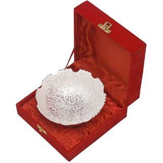 Chor Bazaar Silver Color Single Brass Bowl