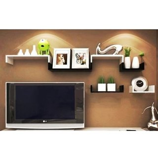 Onlineshoppee Wooden Handicraft Wall Decor Designer Wall Shelf
