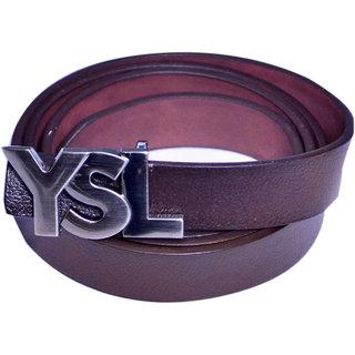 Women brown formal wear belt