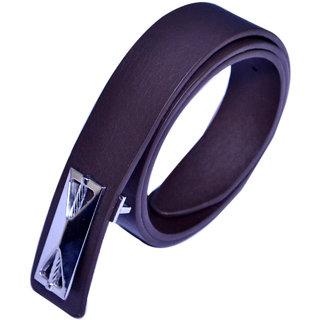 Men black formal wear belt