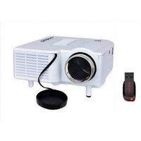 UNIC UC 28 Plus Mini LED Cinema Projector With 8GB Pendrive