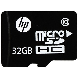 HP 32GB MicroSDHC Card 32 GB with Adapter Class 10