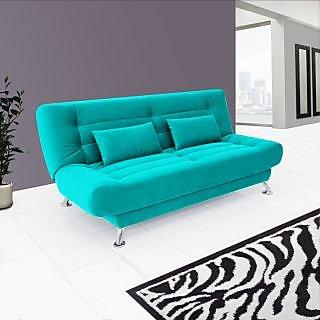 Estilo Sofa Cum Bed ( Teak Blue)