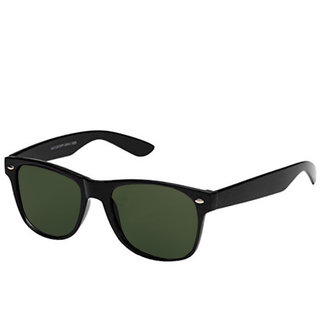 694b43513305f Buy Gansta Gn-3006 Black Frame With Green Lens Wayfarer Sunglass ...
