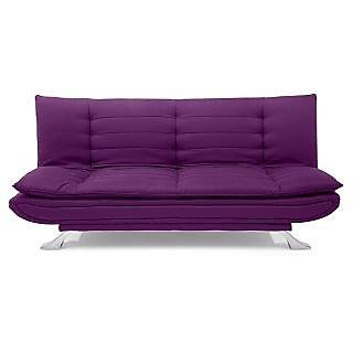 Iris Sofa Cum Bed (Purple)