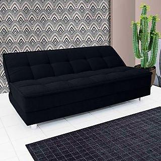 Lavish Sofa Cum Bed ( Black)