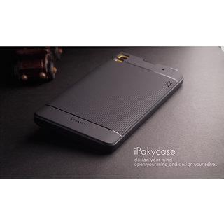 designer fashion f2dae a94c6 Original iPaky Brand Luxury High Back Cover For Lenovo K3 Note (Black)
