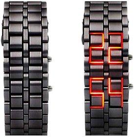 NEY STYLIST  MEN /BOYS  STEEL SAMURAI  LED Watch