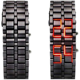 NEY STYLIST  MEN /BOYS  STEEL SAMURAI  LED Watch