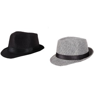 Buy Hats for man - Fedora Hats - set of 2 hats Online - Get 60% Off 1b901e609cc