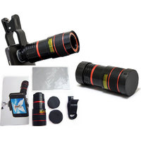 Mobile Lenses - HIGH RESOLUTION HD ClipOn Universal Smooth Zoom 8X Mobile Lens
