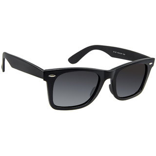 David Blake Matte Black Rectangular Sunglass LCSGDB289x2140MBLK