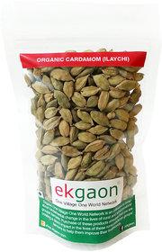 Organic Cardamom (Ilaychi) - 100 Gms