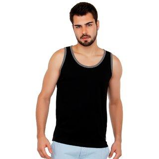 Cult Fiction Men's Black Round Neck T-Shirt