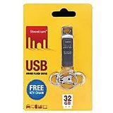 Strontium 32 GB USB Ammo Flash Drive Silver Pen Drive