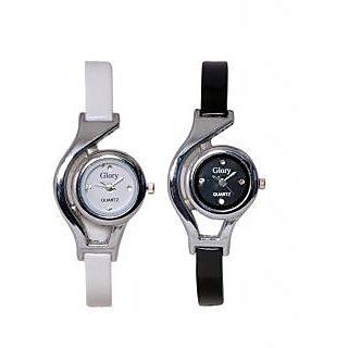 GLORY COMBO OF 2 WATCHES FOR GIRLS,WOMEN