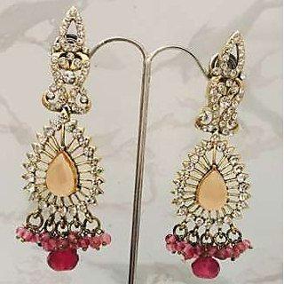 Designer Traditional Earrings For Girls