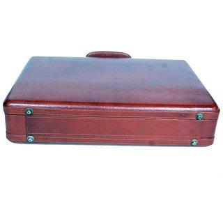 771f22aee025 POOJA Genuine Leather new Office messenger Bag Laptop Bag BRIEFCASE BAG  BFC01BR