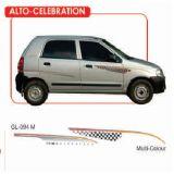 """Car GRAPHICS/DECALS """"ALTO CELEBRATION""""(GL – 094M)For MARUTI SUZUKI ALTO"""
