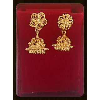 Micro Gold Plated Ethnic Style Earrings