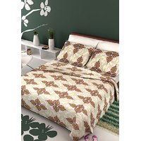 Stellar Home USA Devon Double Bedsheet With 2 Pillow Covers