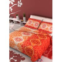 Stellar Home USA Verona Double Bedsheet With 2 Pillow Covers
