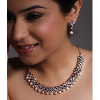 American Diamond Stunning Necklace