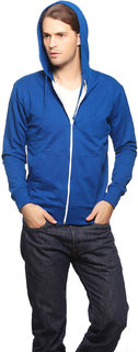 Gritstones Blue Casual Jacket For Men