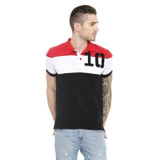 6a985bc3f Buy Gritstones Men s Black Round Neck T-Shirt Online - Get 56% Off