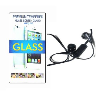 Flexible Tempered Glass Samsung Galaxy Note 5  Wit h Zipper Earphone