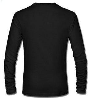 Unique Mens Round Neck T-Shirt Black