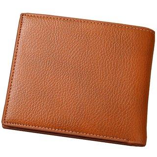 Autoplus Men, Boys Tan Artificial Leather Wallet (Synthetic leather/Rexine)