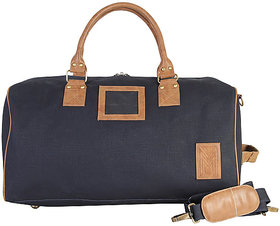 Dhama rounded classic canvas duffle travel bag 2-3 days overnight bag