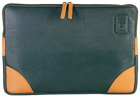 Dhama 15 Dual Colored Leatherette Laptop Sleeve dh2016ls145