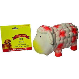 Latex Stuffed Grunter Sheep 17.5 GI036
