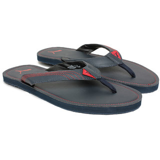 ce6e6fae24c Buy Puma Men s Red and Blue Flip Flops Online - Get 28% Off