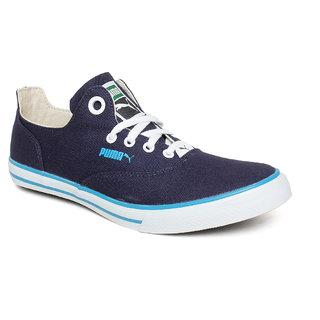 Puma Unisex Blue Lace-up Smart Casuals Shoes